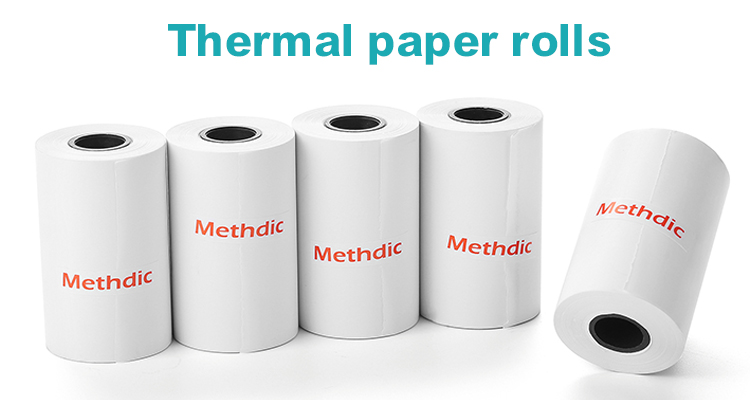 Hot Verkoop 80X80 Mm Kasregister Thermisch Papier Rollen
