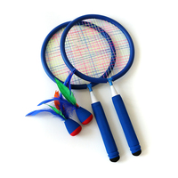 Children Exercise Outdoor Sport Play Toys Soft Foam Badminton Racket Set