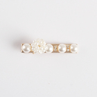 Wholesale high quality bling hair accessories simulated pearl hair clip