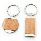 Custom Wood Keychain Blank /Zinc Alloy Keychain /Custom Logo Metal Customized Key Chain for Promotional