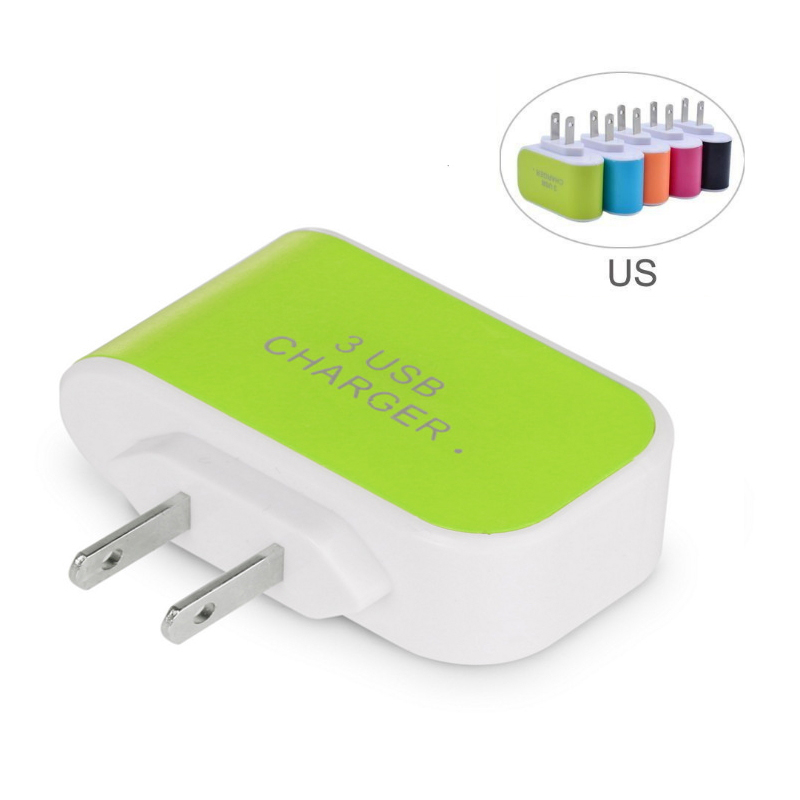 Multi USB Charger For iPhone X XR 7 8 Plus Portable USB Wall Adapter Fast Charger For Xiaomi Mi 9 Redmi Note 7 For Samsung S10