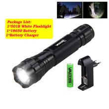 Тактический светодиодный оружейный светильник XM-L T6 501B 5000lm, белый светильник для охоты + прицел для винтовки, крепление для страйкбола + дист...(Китай)