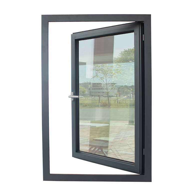 Aluminium double glazing casement windows with german brand