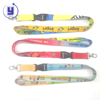 Wholesale Custom Logo Lanyard with Plastic Holder