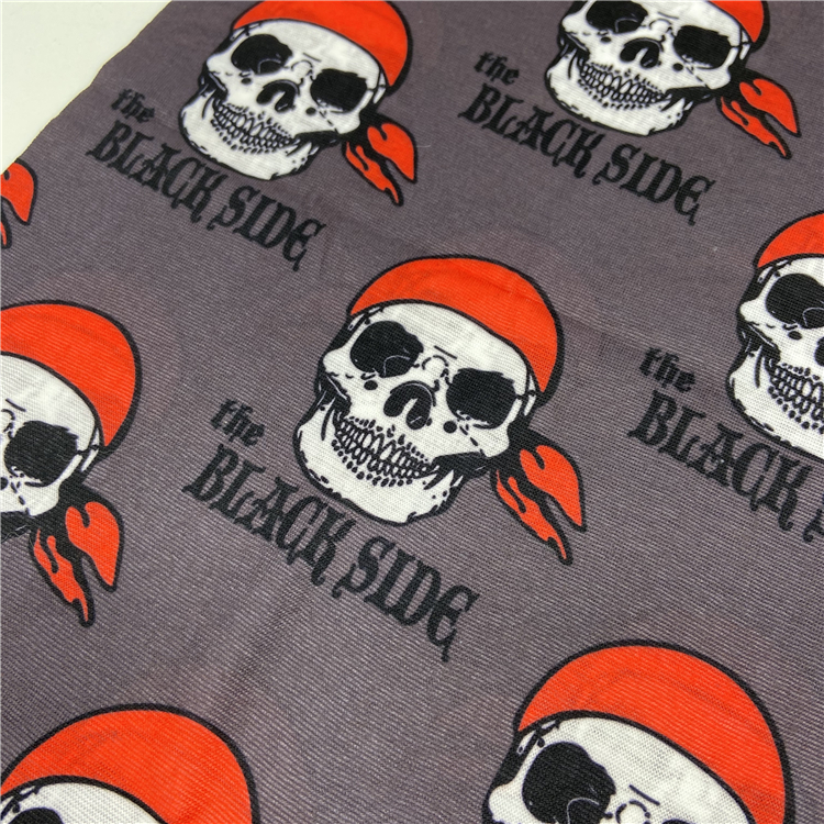 New arrival muti-functional bandanna seamless neck scarf tube head-wear magic bandanna pirate printing