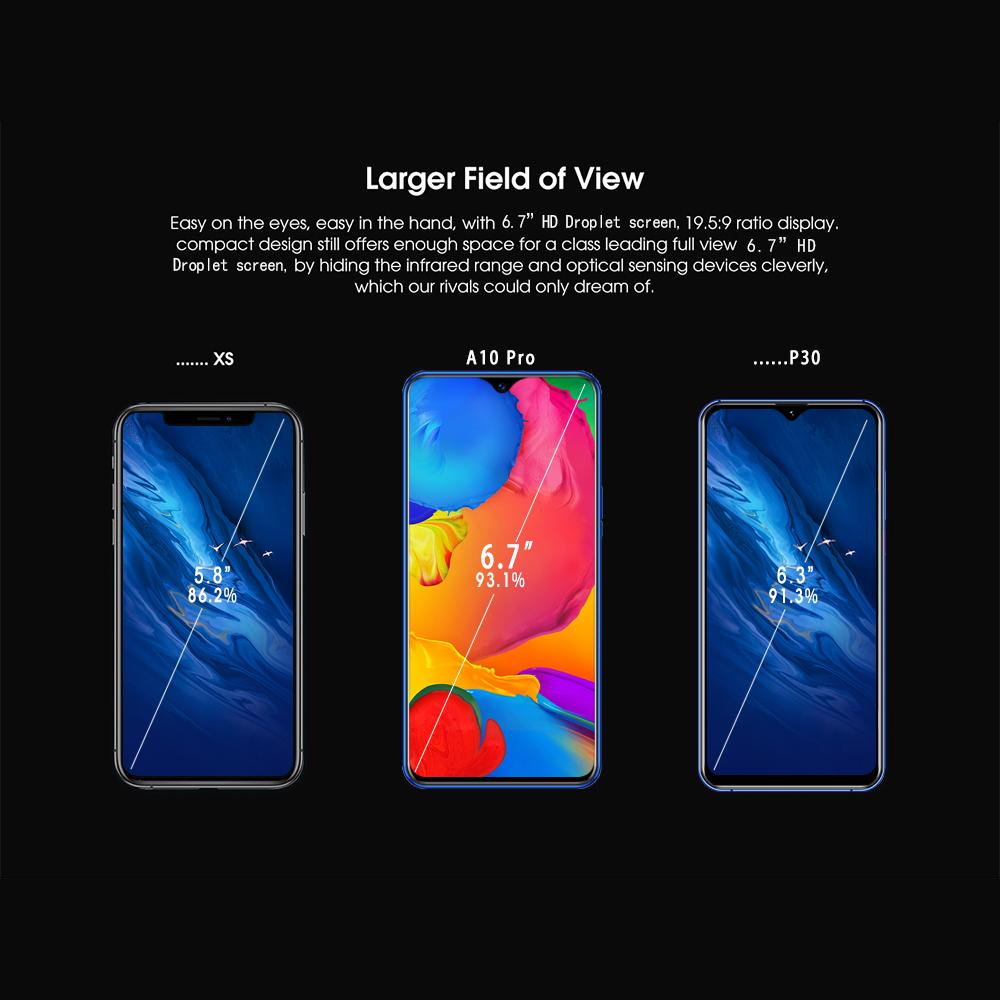 Fingerprint entsperren smart telefon 6,5 zoll 4G verwendet handy smartphones unterstützung OEM/ODM für ihre marke