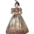 Ecoparty Women Medieval Marie Antoinette Rococo Victorian Long Dress Mary Party Costume