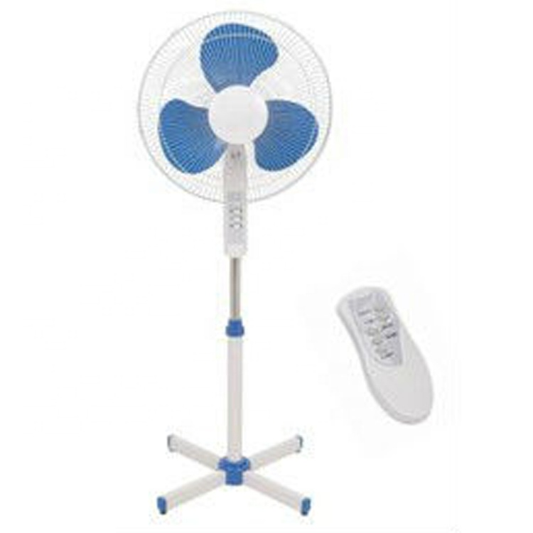 16 inches India China wholesale adjust household indoor high speed electric remote control stand fan for home