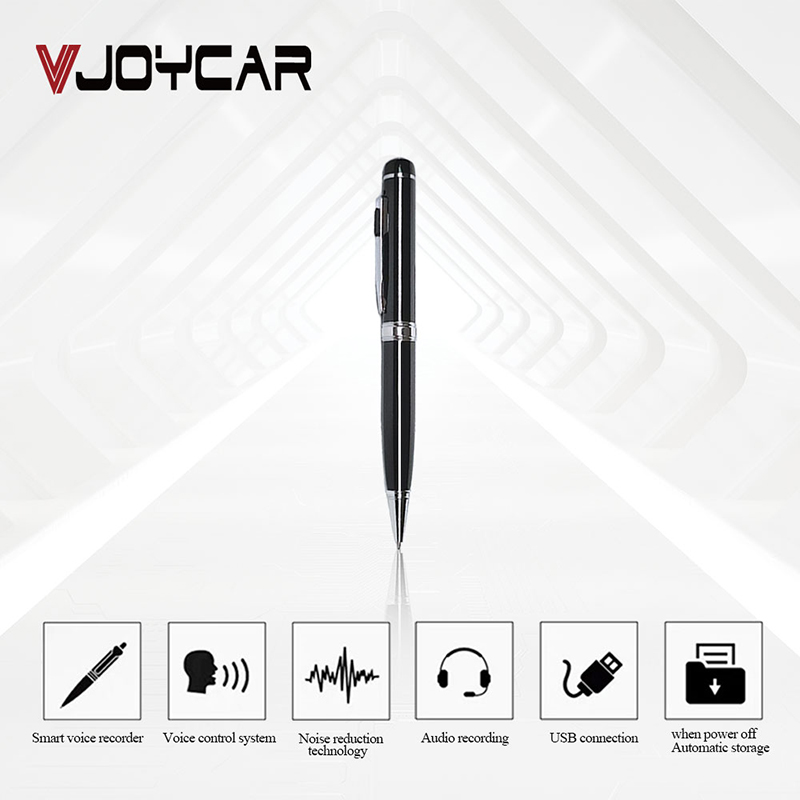 Digital voice recorder VJOY H66 Mini Style voice recorder with pen shape 512kpbs One-key Audio Recording 15hrs Working