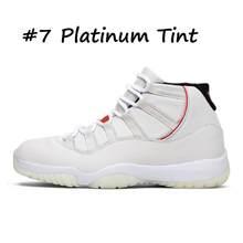 Оригинальные кроссовки для баскетбола из змеиной кожи Bred 2020 11 11s, кепки и бальные пространства, высокие черные Платиновые кроссовки для мужч...(Китай)