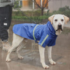 Wholesale outdoor large dog full cover clothes waterproof pet dog raincoat