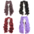 "Anime Wave Fashion 28""/70cm Lolita Long Curly Clip on Two Ponytails Cosplay Wig"