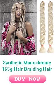 Sampel Gratis 24 Inch 100G Mengepang Rambut Crochet Braid Ekstensi Rambut Sintetis