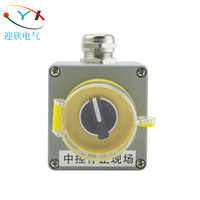 OEM IP66 waterproof aluminum box /push button electric switch control box
