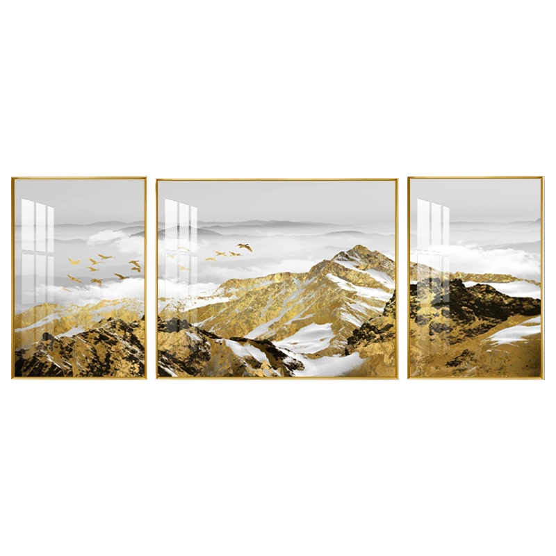 decor wall <strong>pictures</strong> for living room canvas mountain painting for sale