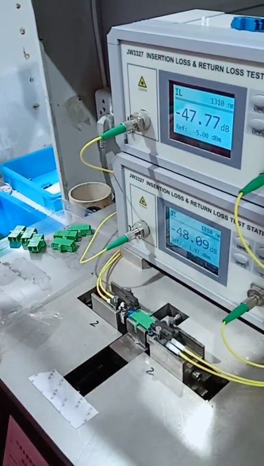 Fiber bağlantı Fc Pc simpleks çok modlu Fiber optik adaptör