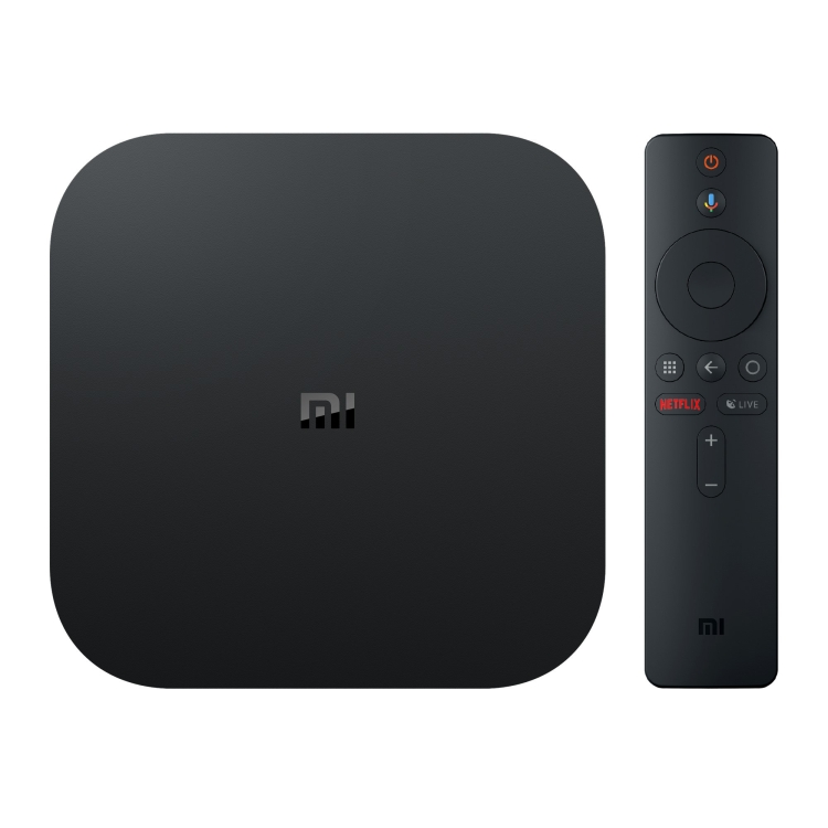 Originale Xiaomi Mi Box S 4K HDR Android TV con Google Assistente A Distanza Lettore Multimediale In Streaming, cortex-A53 Quad-core 64bit