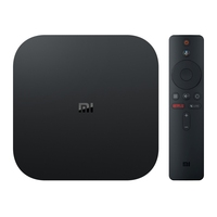 Original Xiaomi Mi Box S 4K HDR Android TV with Google Assistant Remote Streaming Media Player, Cortex-A53 Quad-core 64bit