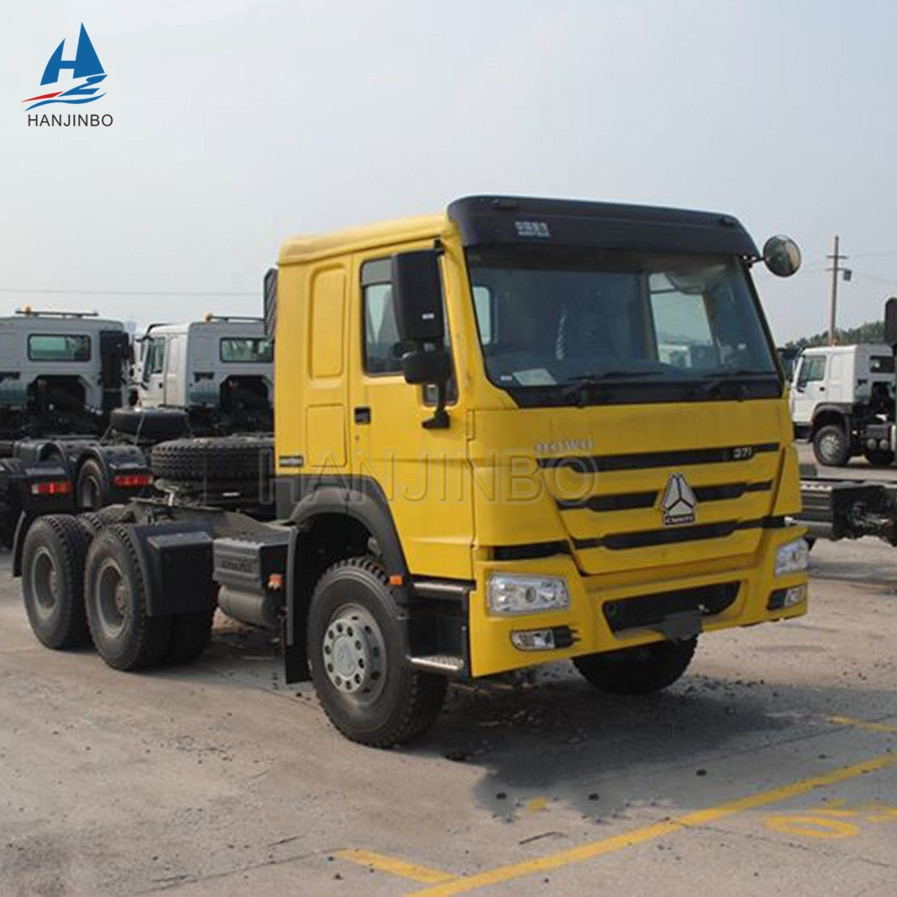 Used Howo Prime Mover 6x4 336 371hp 420hp Truck Trailer