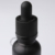 30ml 1oz frosted glass black dropper bottle with tamper proof cap essential oil white glass bottle with scale dropper tip