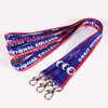 Custom cute decorative neck sublimation heat transfer lanyard for girls