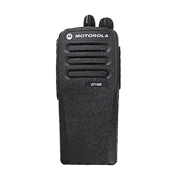 2019 Mais Novo Motorola 2 WayPolice Handy Digital Walkie Talkie Motorola DP1400