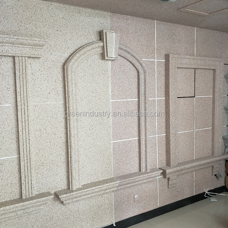 EPS Architectural Ornamental Cornice Mouldings Exterior Polystyrene
