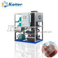 1Ton/day Crystal Ice Tube Maker with Low Power Consumption