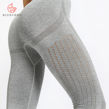 FREE SAMPLE Outdoor Yoga Pants Fitness Gym Clothing Shark Women High Waisted Workout Seamless Leggings
