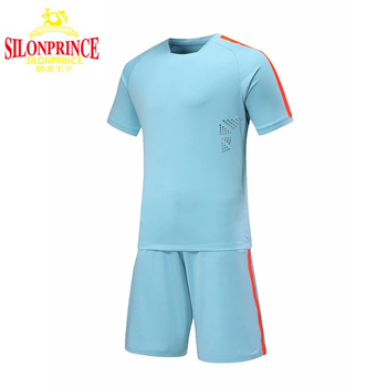 New Arrival OEM/ODM Blank Soccer Jerseys For Men Skin-friendly And Breathable Fabric
