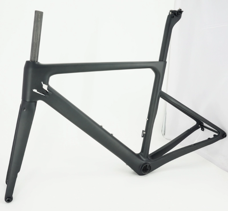 Chinese custom brand <strong>road</strong> bicycle frameset <strong>carbon</strong> fiber gravel bike <strong>frame</strong>
