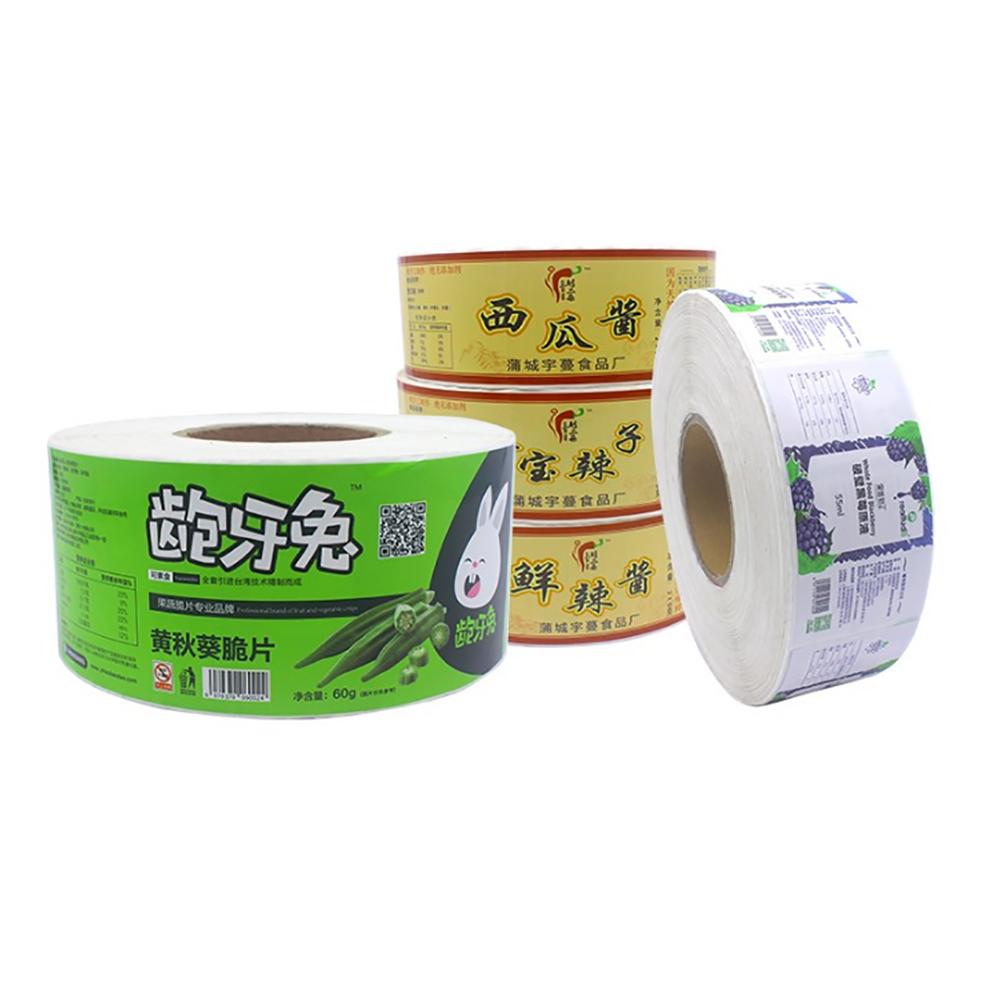 Waterproof Sticker Labels 500pcs Per roll Adhesive label