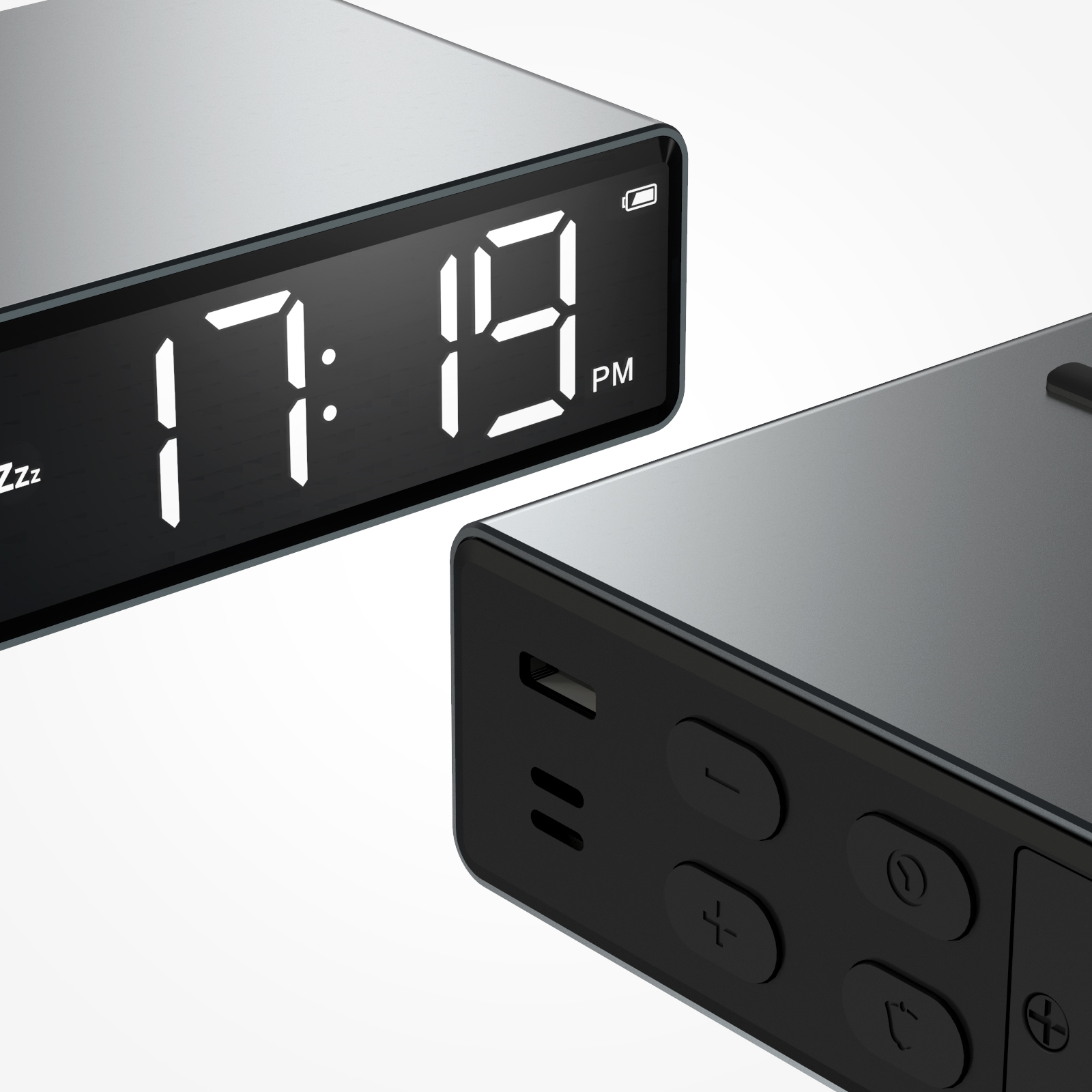 2020 Hot Selling Desk Table Digital LED Clock Alarm Mini Cheap Home Office Students Night Light Clock