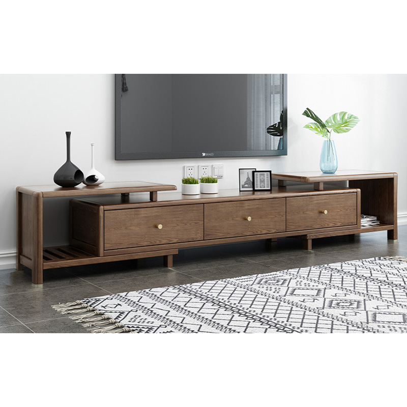 product-2020 latest extendable tv cabinet with drawers living room display cabinet with led tv stand-1