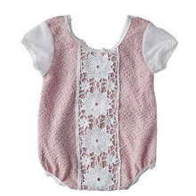 Boutique neugeborene baby mädchen niedlich body <span class=keywords><strong>petti</strong></span> kurzarm romper