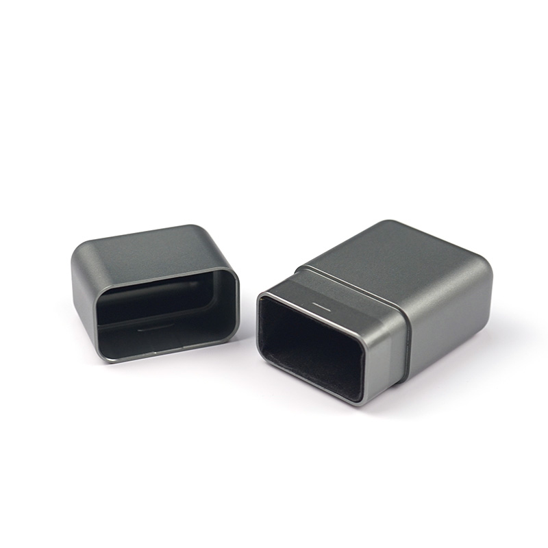 Заказной cnc подвергая механической обработке алюминиевый защитный чехол для ключей, коробка блокировщика ключей автомобиля