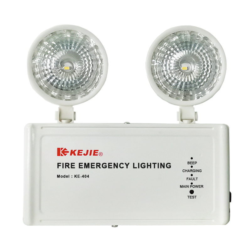 AC 220V-240V 110V Smart and Slim Emergency Lamp Twin Spot Light IP20 Led Emergency Fire Lights Backup