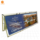 Large format printing event stage vinyl backdrop pvc flex display banner