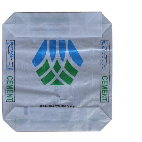 50 KG Tecido PP Bloco Inferior Da Válvula de Cimento Sacos AD Estrela Sacos de Válvula
