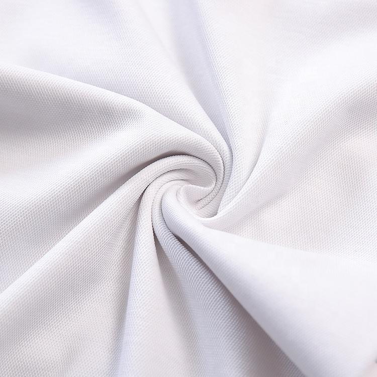 Китайский поставщик завод хлопок шелк Пике трикотажное платье рубашка поло ткань