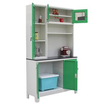 Metal Furniture Kd Structure Kitchen Cabinet Roller Shutter