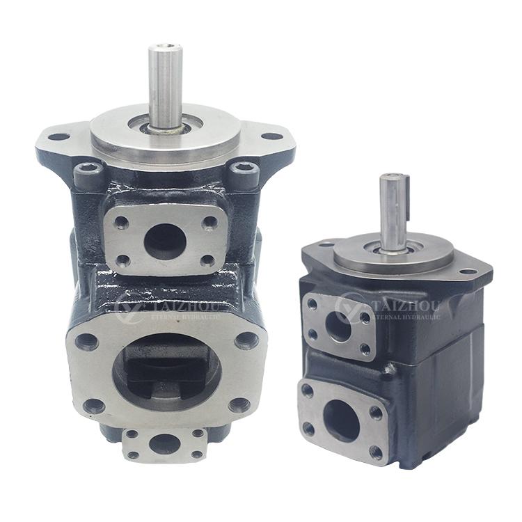 Parker Denison T6 T6C Vane Pump Hydraulic Pump For Marine-Machinery And Excavator Kawasaki T6DC Vane Double Pump Credit