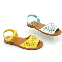 Summer Girl Open Tou Flat Sandals Hollow Out Kids Slides Shoes