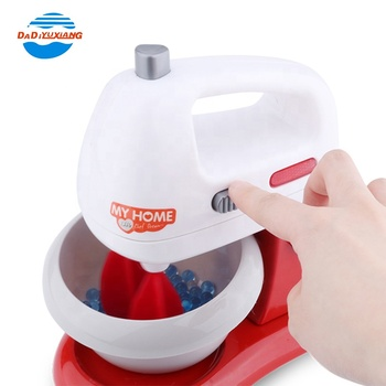 Plastic Electric Musical Kitchen Blender Toy Set With Lights