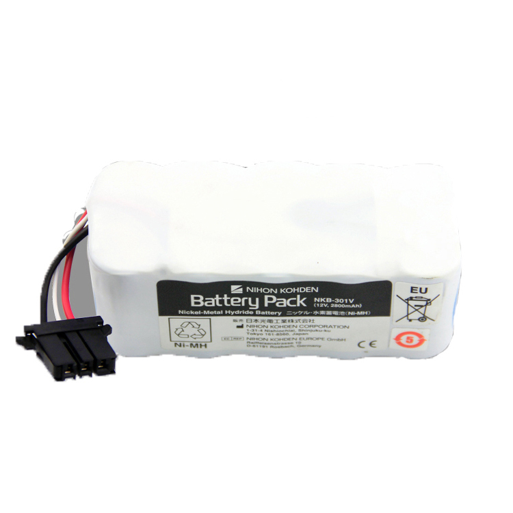 Nihon Kohden NKB-301V Nickel-Metal Hydride battery pack