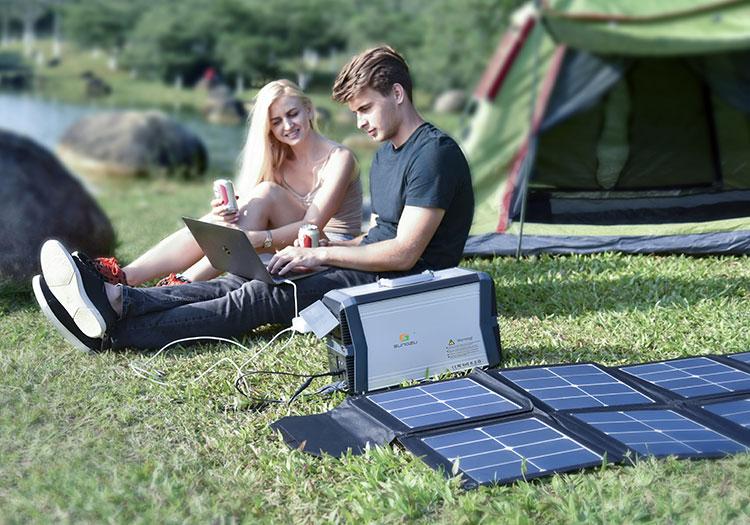 Портативный солнечный генератор Sungzu, 1 кВт, неэлектрическая домашняя солнечная энергетическая система, портативная электростанция