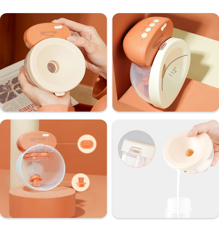 Phanpy Yiqiao USB Electric Suction Breast Pumping Wearable Hands-Free Breast Pumps Portable