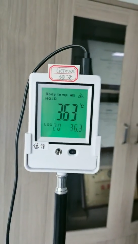China Manufacturer Non Contact Lcd Digital Laser Thermometer Rohs Industry Smart Sensor