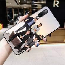 Мягкий черный чехол для телефона Btr Big Time Rush для Huawei P40 P30 P20 lite Pro Mate 20 Pro P Smart 2019 prime(Китай)
