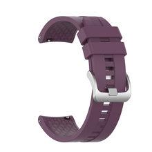 Цветной ремешок 22 мм для huawei Watch GT/GT 2 46 мм/42 мм для мужчин wo для мужчин Смарт-часы ремешок Браслет спортивный силиконовый(Китай)